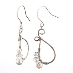 Awesome harmony earrings.  Made with sustainable sterling silver!  Seriously, you should see these on.