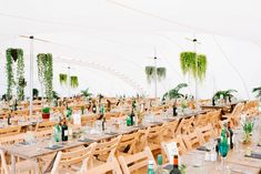 Fun Stretch Tent Reception on Primary School Field in Sheffield by Tub of Jelly Marquee Wedding, Tent Wedding, Stretch Tent Hire, Delphine Manivet, Luxury Tents, Tent Reception, Hanging Plants, Primary School, Sheffield
