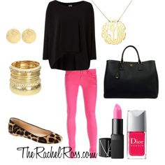 Wearing this tomorrow to school for Breast Cancer Awareness week Teen fashion Cute Dress! Clothes Casual Outift for Pink Jeans Outfit, Cute Summer Outfits, Girly Outfits, Dance Outfits, Cute Outfits, Outfit Summer, Pants Outfit, Preppy Style, My Style