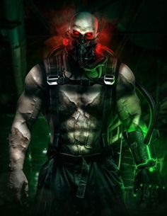 Bane redesigned by Bosslogic