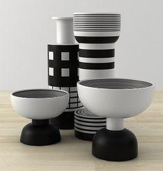 Ceramics  : Black & White