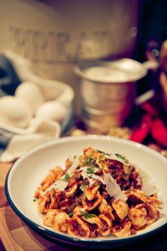 自家製肉腸香草芝士意大利粉 pasta