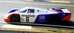 Henri Pescarolo (F)/Jean-Louis Ricci (F)/Jacques Laffite (F) 24 Hours 1990 Porsche 962