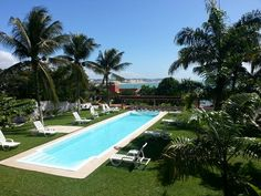 View from the pousada in Natal, Brasil.
