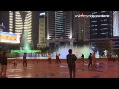 An evening stroll through the illuminated Kunming - China Published by http://www.myvideomedia.de #travel  #china