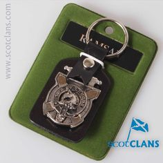 Ramsay Clan Crest Keyfob. Free worldwide shipping available.