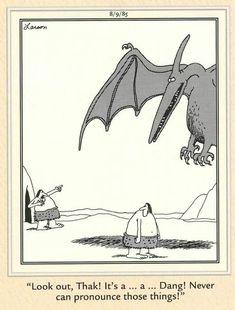 Far Side Cartoons, Far Side Comics, Funny Cartoons, A Far Off Place, Gary Larson, The Far Side, Hilarious, Funny Stuff, Humor