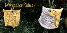 Adventné tvorenie: Sovičky zo samotvrdnúcej hmoty Kids Crafts, Montessori, Christmas Ornaments, Holiday Decor, Home Decor, Decoration Home, Room Decor, Christmas Jewelry, Christmas Decorations