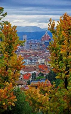 Autumn in Florence, Tuscany, Italy