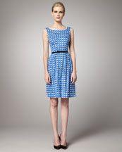 Kate Spade Sonja Printed Dress