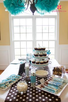 Beautiful Boy Baby Shower | PartyChic