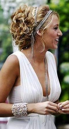 Bride's loose curl chignon long bridal hair ideas  Toni Kami Wedding Hairstyles ♥ ❶ wedding hairstyle  Hair jewelry