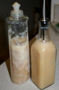 liquid-goat-milk-soap. I just did this I am waiting to see if it works.