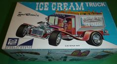 MPC Ice Cream Truck 614 150 George Barris 1 25 Model Car Mountain Kit Vintage | eBay