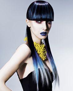 www.esteticamagazine.de    Artistic Direction: Maurizio Contato/Hair: Art Hair Studios/Photo: James Rudland/Styling: Marina Olivati Products: Wella Professionals, System Professional, Professional Sebastian, Nioxin
