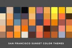 配色選びに困ったら確認したい、色の組み合わせ用チートシート The Ultimate Combinations Cheat Sheet - PhotoshopVIP Ad Design, Graphic Design, Sunset Colors, Color Pallets, Color Themes, Color Inspiration, Home Decor, Art, Color Palettes