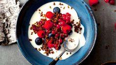 Ymer, ymerdrys & berries | yoghurt recipe | SBS Food
