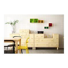 IKEA PS 2012 Kommode mit 5 Schubl/Tür IKEA Aus Massivholz, einem strapazierfähigen, lebendigen Naturmaterial.