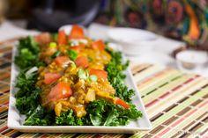 "Vegan Indian ""Butter"" Tofu -- Sub cauliflower and chickpeas instead of the tofu. -hg"