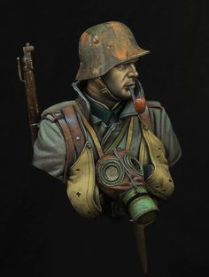 German stormtrooper 1918 boxart for young miniatures