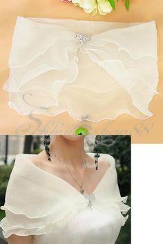 Sheer shoulder drape – – Top Of The World Filipiniana Dress, Wedding Shawl, Designs For Dresses, Indian Designer Wear, Saree Blouse Designs, Bridal Accessories, Bridal Style, Dress Patterns, Designer Dresses