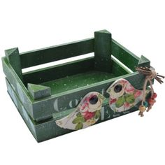 Hepsi Tasarım Kuşlu Kasa Wishing Well, Wood Turning, Painting On Wood, Home Art, Toy Chest, Crates, Decoupage, Diy And Crafts, Projects To Try