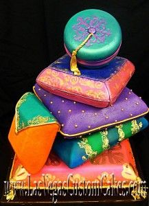 Moroccan Pillows Cake Las Vegas Custom Cakes
