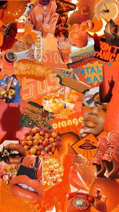 Iphone Wallpaper Orange, Ed Wallpaper, Iphone Wallpaper Vsco, Trendy Wallpaper, Aesthetic Pastel Wallpaper, Cute Wallpaper Backgrounds, Pretty Wallpapers, Colorful Wallpaper, Aesthetic Wallpapers