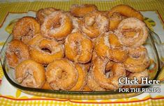 This Portuguese style fried donuts (argolinhas fritas) recipe is very easy to make and makes a great sweet snack.