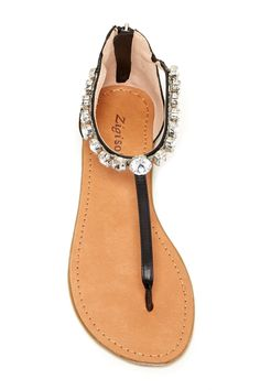 Ziginy - Fatine Embellished Sandal is now 33-70% off. Free Shipping on orders over $100.