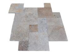 Tuscan Blend - Tumbled - #Travertine #Tile. Order online , see samples.