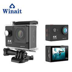 >> Click to Buy << Action camera Original  remote Ultra HD 4K WiFi 1080P 60fps 2.0 LCD 170D go bike sport waterproof pro camera #Affiliate