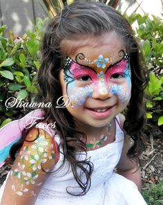 Gorgeous face painting