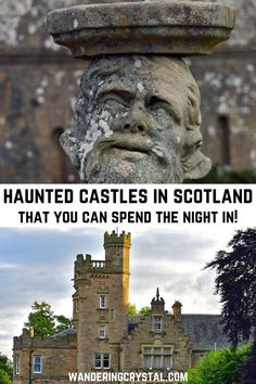 Haunted Castles in Scotland that You Can Spend the Night In! Spend the night in a haunted castle in Scotland with the Ghostly Grey Lady & disembodied voices. Scotland has a lot of haunted Castles you can stay in. Places In Scotland, Scotland Castles, Scottish Castles, Scotland Travel, Ireland Travel, Edinburgh Scotland, Italy Travel, Haunted Places In Missouri, Most Haunted Places