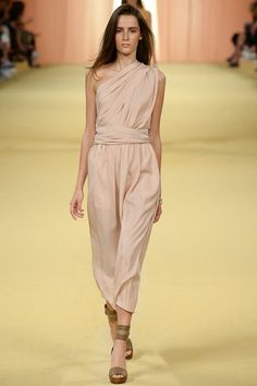 Hermes womenswear, spring/summer 2015, Paris Fashion Week