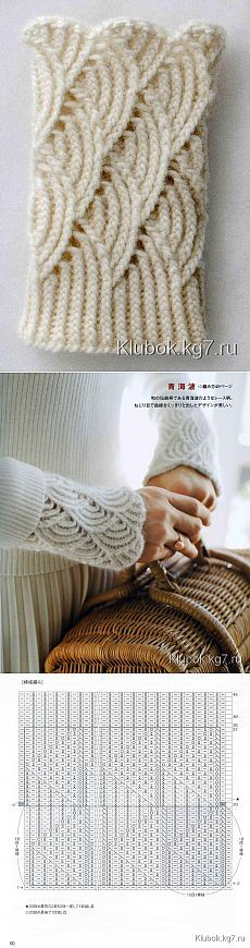 Find and save knitting and crochet schemas, simple recipes, and other ideas collected with love. Lace Knitting Patterns, Knitting Stitches, Knitting Designs, Free Knitting, Knitting Projects, Baby Knitting, Crochet Projects, Stitch Patterns, Knitting Wool