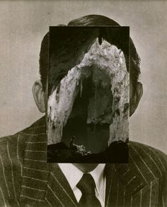 John Stezaker, Mask IV, 2005, Collage