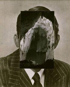 John Stezaker, Mask IV, 2005, Collage