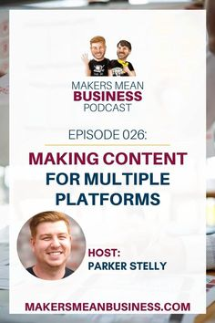 In this podcast episode of Makers Mean Business we take a look at how to create content that serves our audience. How To Make Wreaths, Purpose, Content, Learning, Create, Business, Art, Art Background, Kunst