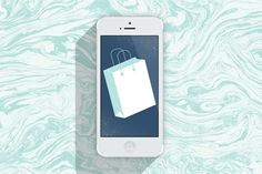 The 5 Best Shopping Apps for Girls on a Budget | Art by Ashley Minette | Teenvogue.com