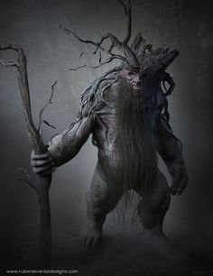 Forest King by Ruben alvarez | Fantasy | 2D | CGSociety