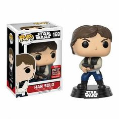 Funko Pop Han only 169 Star Wars Figure 3 2017 Galactic Convention Funko Figures, Pop Figures, Action Figures, Funko Pop Star Wars, Star Wars Toys, Regalos Star Wars, Starwars, Gadgets, Star Wars Han Solo