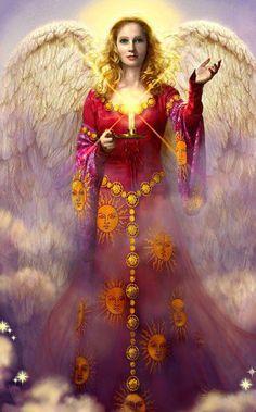 Archangel Jophiel - Beauty of God.