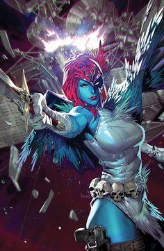 Marvel Comics Art, Marvel X, Marvel Heroes, Marvel Characters, X Men, Comic Books Art, Comic Art, Book Art, Female Comic Heroes