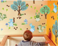 Colorful (removable!) wall decals - Parenting.com