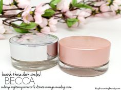BECCA Undereye Brightening Corrector and Ultimate Coverage Concealing Creme daydreamingbeauty.com