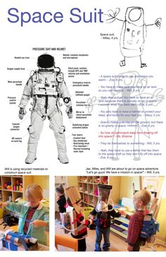 Space study at Bambini Creativi ≈≈. Learning Stories, Play Based Learning, Learning Process, Tot School, School Fun, Reggio Documentation, Preschool Science, Space Theme, Dramatic Play