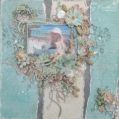 Amy's Pretty Papers: Sweet Memories Layout for ***Maja Design*** + Play...