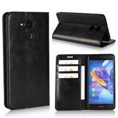 Housse Huawei Honor 6C Pro Simili cuir premium - Noir
