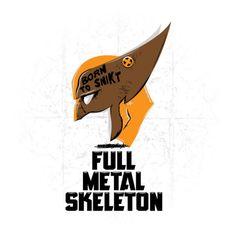 Full Metal Skeleton - Wolverine